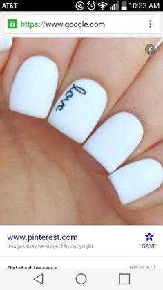 Cute nail style