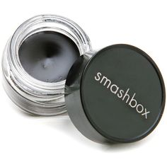 Smashbox JetSet eyeliner in Matte Black. I don't like shiny eyeliner and this stays put till i take it off at the end of the day, even on my tightline and waterline! Love.