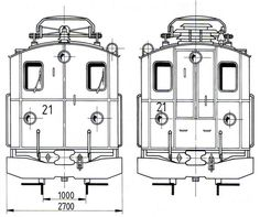 FO HGe 2-2 (21) Locomotive, 21st, Floor Plans, Diagram, Locs