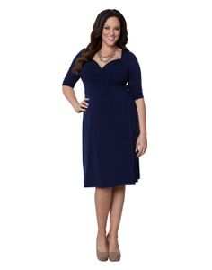 Sweetheart Knit Wrap Dress           ($98.00) http://www.amazon.com/exec/obidos/ASIN/B008MOM7FM/hpb2-20/ASIN/B008MOM7FM This dress fit beautifully. - Love the colour--it has great neckline showing off just enough cleavage. - The Sweetheart dress flatters every curve!
