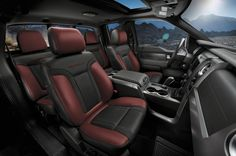 2017 ford raptor f150 interior