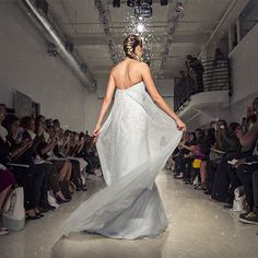 Meet Elsa: a wedding gown inspired by Disney's Frozen. A true modern day bride, Elsa is bold and daring while remaining regal and elegant.