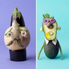 Carl Kleiner Exotic Fruit, Japanese Food, Bento, Pastel Colors, Cos, Food Art, Lunch, Christmas Ornaments, Holiday Decor