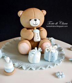 Torta per il battesimo del piccolo Riccardo...     ..Benvenuto!!!