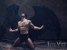 Fallen Angel by Salvador Pozo