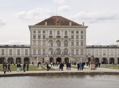 Schloss Nymphenburg in München Bayern.