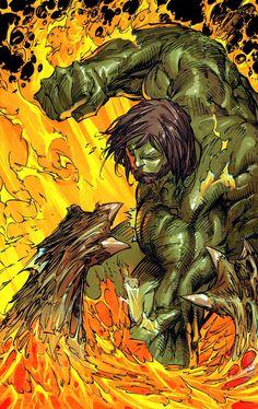 Incredible Hulk by Marc Silvestri