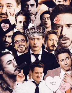 Robert Downey Jr. Colllages.tumblr.com
