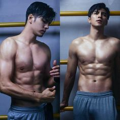 From Advance Bravely Asian Muscle Men, Hot Asian Men, Asian Guys, Advance Bravely, Great Haircuts, Hot Hunks, Male Physique, Man Photo, Male Body