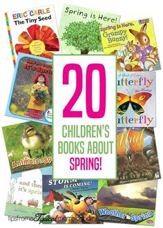 20 Childrens Books about Spring | reading with your kids | Spring Season | Kids Activites and Stories | Kids Books