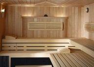 Sauna Premium: hemlock internal cladding, design package, Bonatherm VS SANARIUM