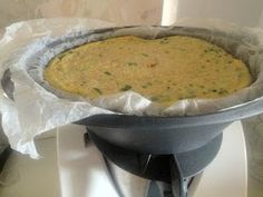 Thermomix Omelette - love the idea of baking paper- looks easier to clean up!