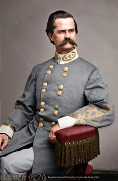 Either General Richard Lee Turberville Beale; William Nelson Rector Beall (no known relation). It is disputed among genealogists. American Veterans, American Civil War, American History, Civil War Art, Civil War Photos, Military Equipment, Brother Quotes, Daughter Quotes, Family Quotes