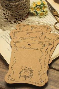 ECO Brown Kraft Goods - Hard Craft Paper Board Thread Spool