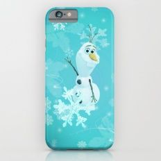 olaf in the snow iPhone 6s Slim Case