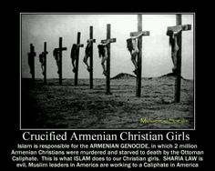 muslim hatred of Christians