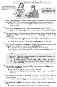 Grade 10 Grammar Lesson 42 More prepositions (3)