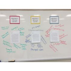 I wanted to show my students exactly what a good essay should look like. I posted examples and characteristics of essays that would have received grades of 70%, 80% and 90%. #essaywriting #englishteacher #secondaryela #teachersfollowteachers #iteachtoo