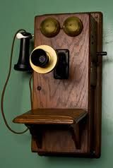 One of the first telephones invented that Bell heard sound on, on June 2, 1875