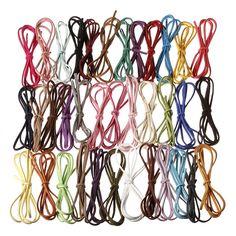3mm Multicolor Leather Cord Suede Lace DIY Making Bracelets Necklace Making Bracelets, Diy Jewelry Making, Kids Jewelry, Leather Cord, Jewelry Findings, Lace, Shop, Color, Racing