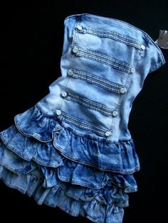 the few concessions I make to denim anything are always ridiculous and absurd