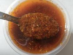 Mojo picón casero 🌶️🥄 Receta de María José MR 👨👩👧 - Cookpad Pollo Kfc, Carne, Pasta, Beef, Hummus, Food, Aioli, Mayonnaise, Dressings