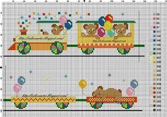 Αποτέλεσμα εικόνας για κουβερτακια για μωρα Baby Cross Stitch Patterns, Cross Stitch For Kids, Cross Stitch Cards, Cross Stitch Borders, Cross Stitch Baby, Cross Stitch Designs, Cross Stitching, Cross Stitch Embroidery, Stitch Toy