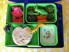 Eats Amazing - James & the Giant Peach themed lunch for Roald Dahl Day