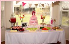 Girly Dr. Suess Baby Shower