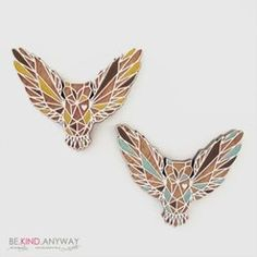Owl brooch by Landi Kuhn Owl, Brooch, Jewels, Heart, Accessories, Design, Store, Jewelery, Owls