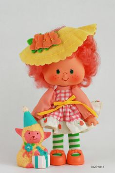Peach Blush + Melonie Belle / Honey Lamb - party pleaser - Strawberry Shortcake dolls - Google Search