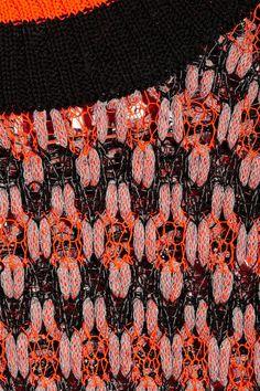 Skaist-Taylor|Neon open-knit sweater|NET-A-PORTER.COM