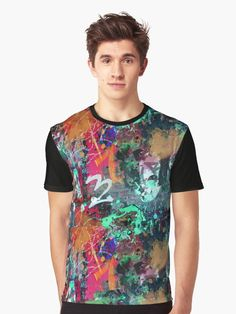 Graffiti and Paint Splatter by #Gravityx9 Designs at Redbubble - Graffiti urban art with drips and splatters of paint. • Also buy this artwork on apparel, stickers, phone cases, and more.