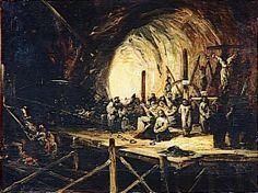 Eugenio Lucas y Velazquez – Escena de la Inquisición (1851)