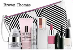 Are you from Ireland? Visit Brown Thomas for your 9-pc gift - free with Clinique purchase of 2 or more products. http://clinique-bonus.com/united-kingdom/