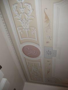 Soffitto decorato a casa Pitti