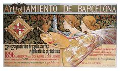 3ra. Exposición de Bellas Artes é Industrias Artísticas   Riquer Inglada, Alexandre de