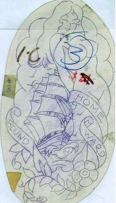 Sailor Jerry Tattoo Flash, Sailor Tattoos, Old Tattoos, Vintage Tattoos, Arabic Tattoos, Dragon Tattoo Back Piece, Dragon Sleeve Tattoos, Mermaid Tattoo Designs, Mermaid Tattoos