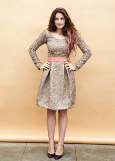 Image of Elisalex Dress - reviews say bodice is fantastic!  Make a gathered skirt or 1/2 circle instead of tulip.