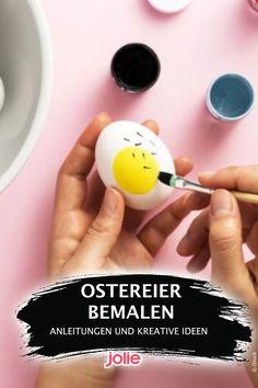 Hier gibt es tolle Ideen und Motive sowie Step-by-Step-Anleitungen zum Bemalen von Eiern. Diy Decoration, Creative Ideas, Amazing, Tutorials