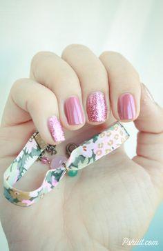 Mix and match de liso e glitter