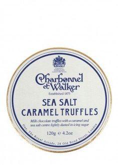 Charbonnel et Walker- Sea Salt Caramel Truffles Sea Salt Caramel, Wine Recipes, Truffles, Food Inspiration, Truffle, Mushrooms