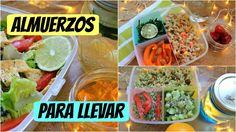 Almuerzos Comidas saludables para llevar (Opción vegana incluida) - YouTube
