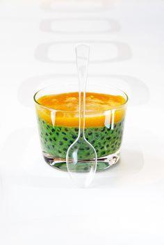 Perles du Japon au thé matcha et leur gelée de curcuma — Curcuma en cuisine de…