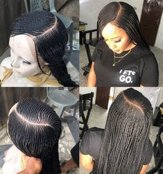 Braided lace front wig elise super braids with weave cornrows corn rows ideas braids afro corn rows braids afro corn rows Box Braids Hairstyles, Latest Braided Hairstyles, French Braid Hairstyles, Braids Wig, African Hairstyles, Corn Row Braids, Corn Row Hairstyles, Hairstyle Ideas, Pretty Hairstyles