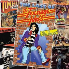 """"""" The Last Of The Teenage Idols"""" by Alex Harvey Top 100 Albums, Great Albums, Greatest Album Covers, Cool Album Covers, Alex Harvey, Trending Christmas Gifts, Idol, Classic Artwork, Lp Cover"""
