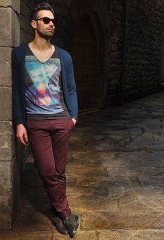Inspiração: Looks com a Cor de 2015, 'Marsala'. moda men style: http://www.valenciamindfulnessretreat.org