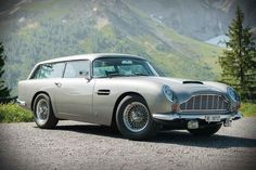 As iconic as the James Bond Aston Martin coupe is, our hearts palpitate when we lay eyes on the station wagon (shooting brake in Britspeak) version of it. Aston Martin Db5, James Bond Cars, Bmw M1, Shooting Brake, Station Wagon, Luxury Cars, Vintage Cars, Cool Cars, Classic Cars