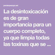 """La desintoxicación es de gran importancia para un cuerpo completo, ya que limpia todas las toxinas que se encuentran en el cuerpo y por lo tanto reduce el exceso de residuos. Foto: Victoria """"Vicky"""" Pattison es"""