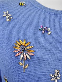 bijew Sewing Class, Hand Embroidery, Brooch, Gemstones, Beads, Elegant, Detail, Pattern, Diy